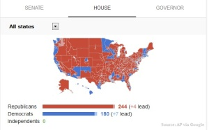 This map shows just how dominating the Republican performance was, particularly in the House of Representatives.