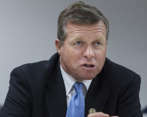 Representative Charlie Dent, a Pennsylvania Republican, laughed off mandatory sick leave by saying,
