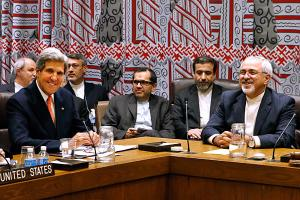 Leaders discuss Iran's nuclear future.