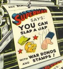 Messages like this one were front-and-center in wartime American comic books.