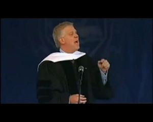 Media personality Glenn Beck is a frequent preacher of capitalist and Constitutional dogmas.