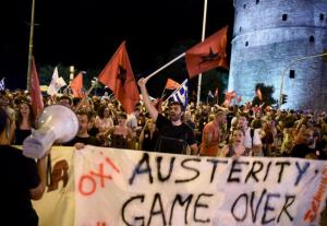 Sixty-one percent of Greeks voted