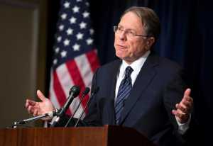 NRA President Wayne LaPierre thinks there'd be a lot less death from guns if a lot more people owned guns. Every serious study on the subject disagrees.