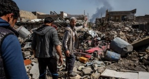 Mosul shelling